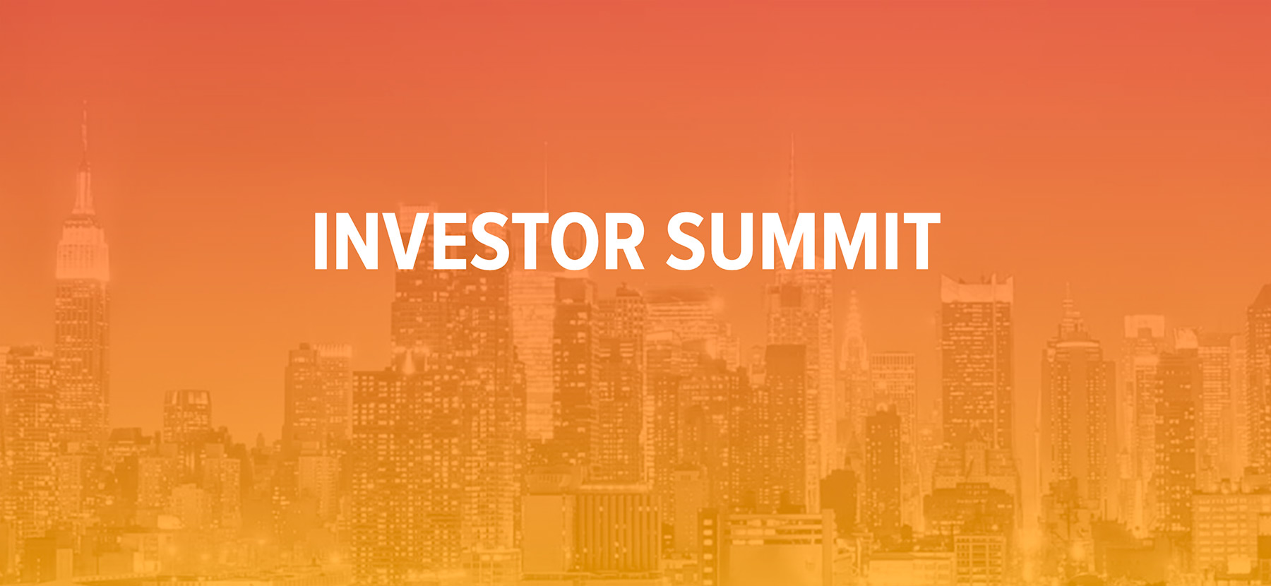 Investor Summit Spring Conference